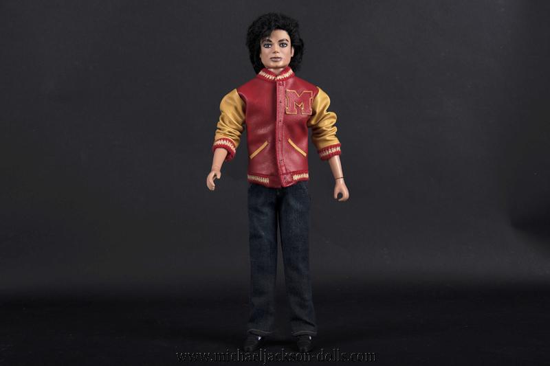 Michael Jackson doll Thriller werewolf jacket