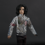 Michael Jackson doll What More Can I Give close up