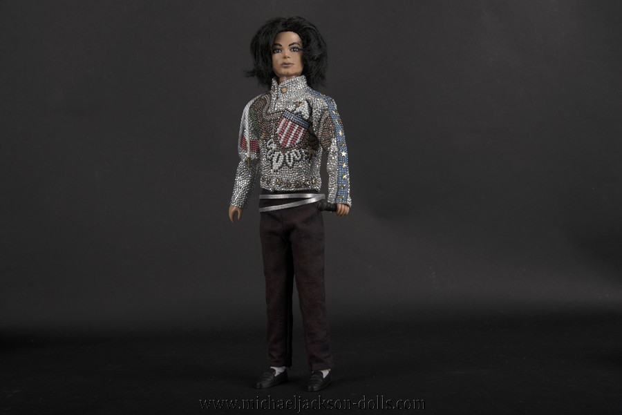 Michael Jackson doll What More Can I Give
