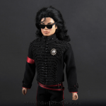 Michael Jackson doll White House outfit close up