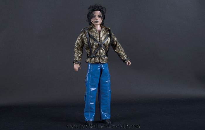 Michael Jackson doll Working Day And Night