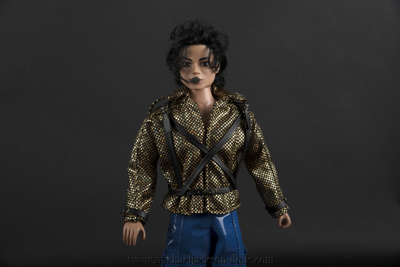 Michael Jackson doll Working Day and Night close up