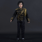 Michael Jackson doll black jacket