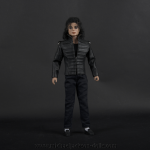 Michael Jackson doll black leather jacket