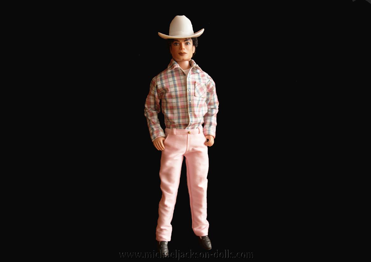 Michael Jackson doll cowboy