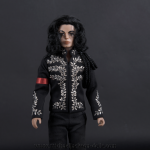 Michael Jackson doll family honors close up