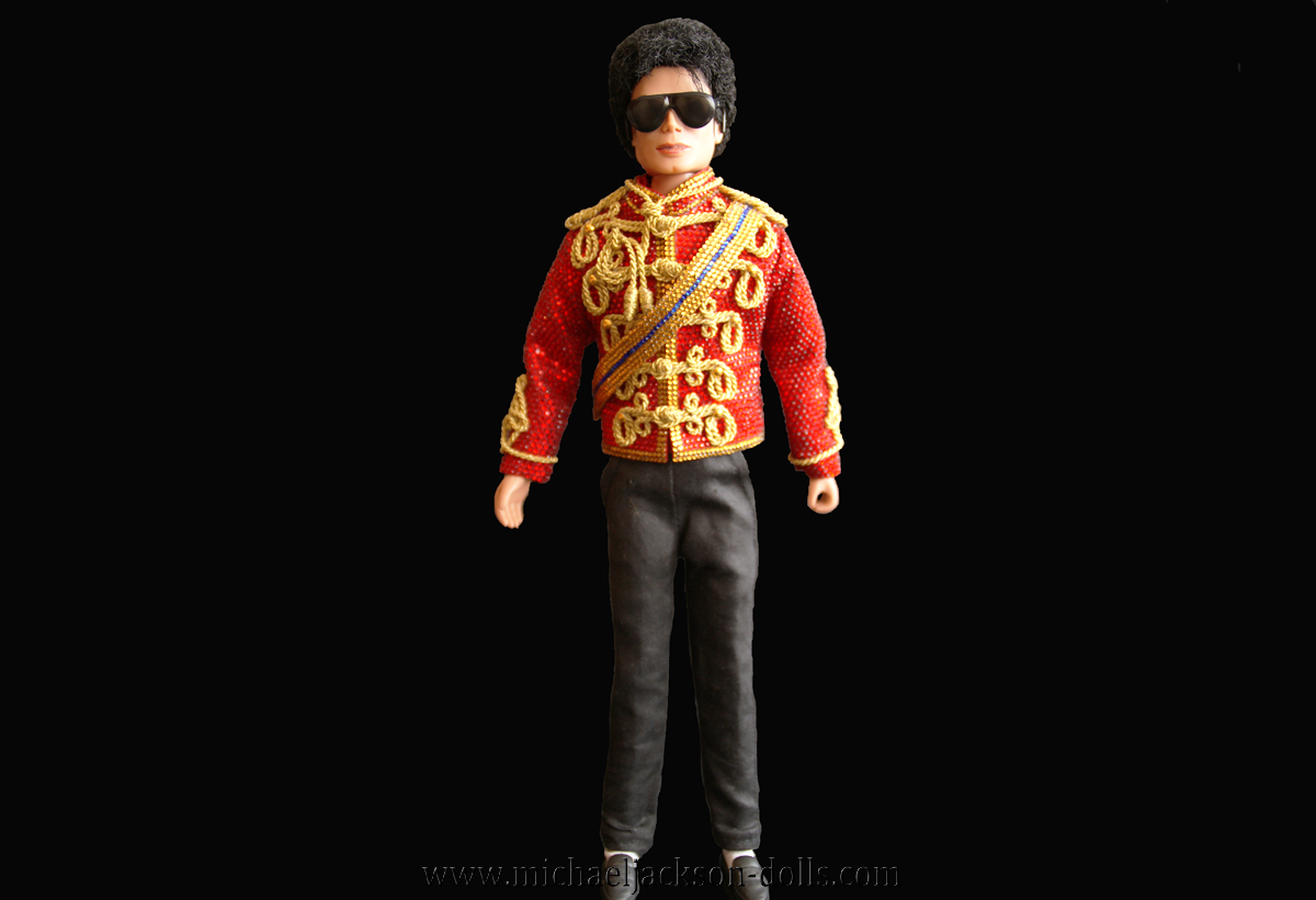 Michael Jackson doll famous red jacket
