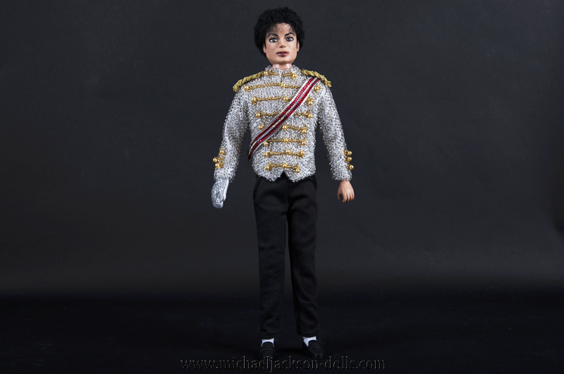 Michael Jackson doll famous white jacket