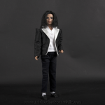 Michael Jackson doll jacket with white lapel