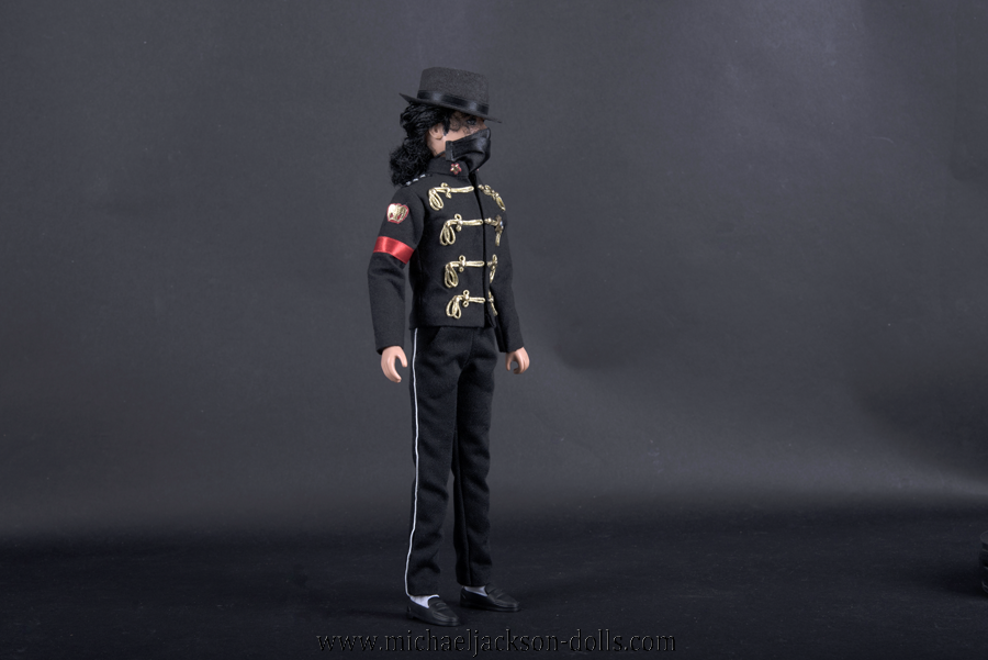 Michael Jackson doll outfit Poland visit