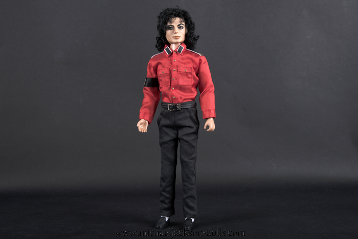 Michael Jackson doll red CTE shirt