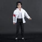 Michael Jackson doll white CTE shirt