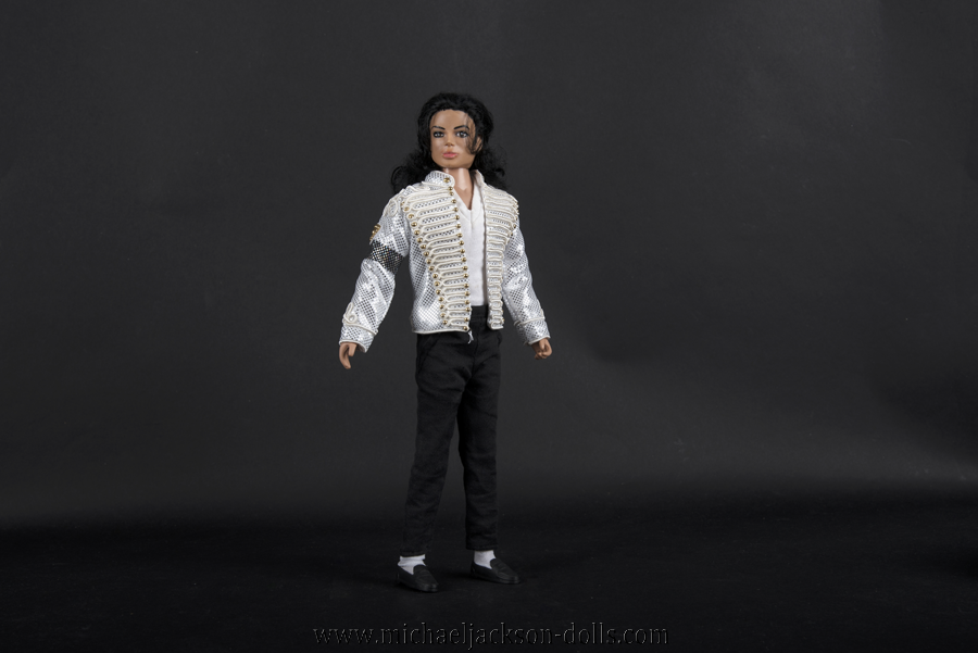 Michael Jackson doll white History jacket