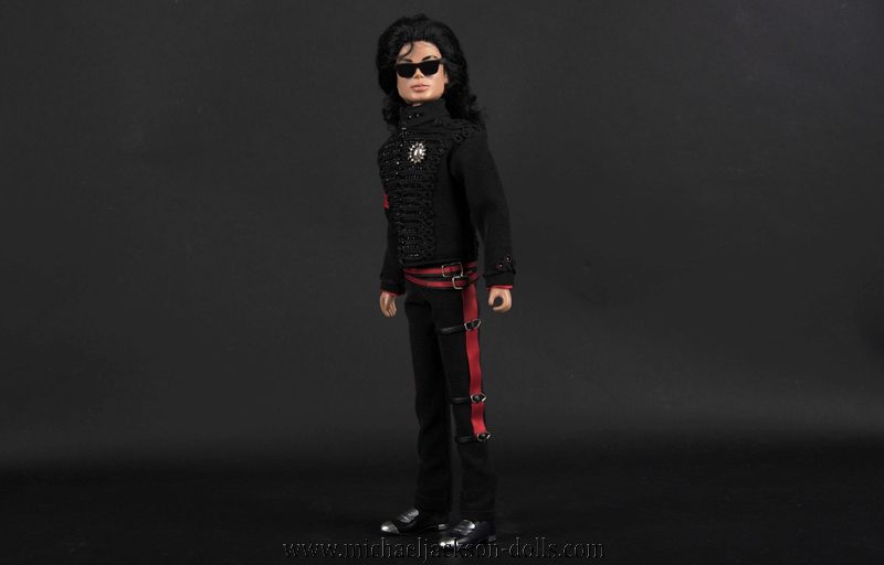 Michael Jackson doll white house outfit