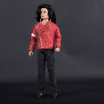 Michael Jackson doll 2006 press conference