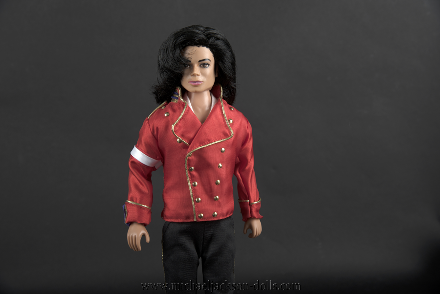 Michael Jackson doll 2006 press conference close up