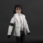 Michael Jackson doll Acadamy Awards 1990 close up