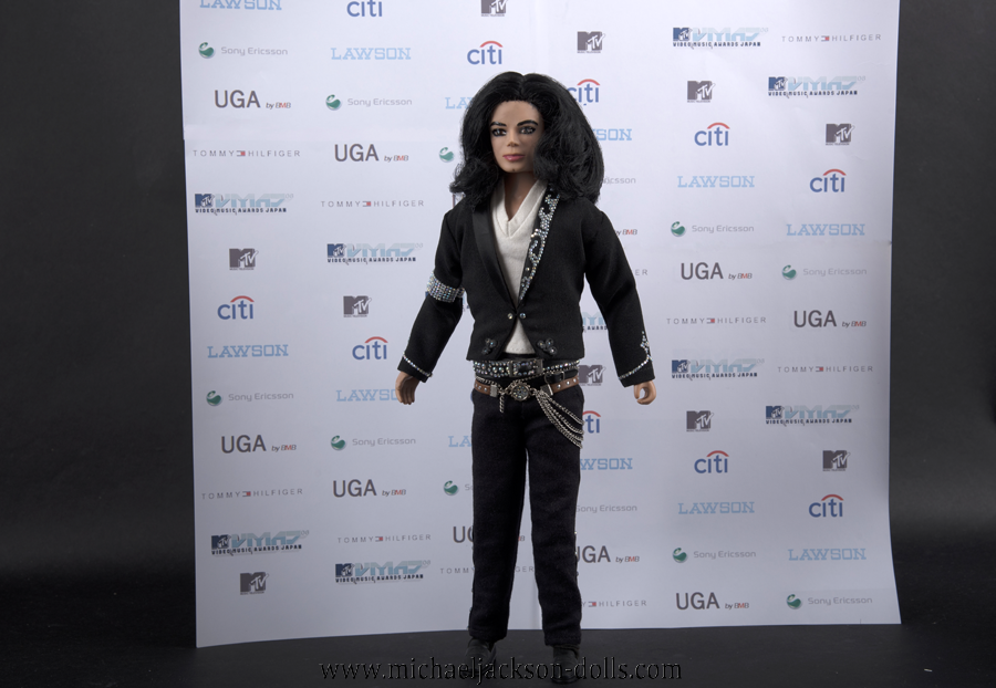 Michael Jackson doll MTV Music Video Awards Japan 2006