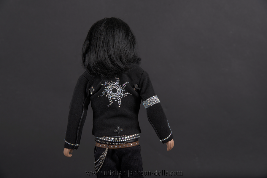 Michael Jackson doll MTV music video awards Japan 2006 back side close up