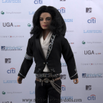 Michael Jackson doll MTV music video awards Japan 2006 wall close up