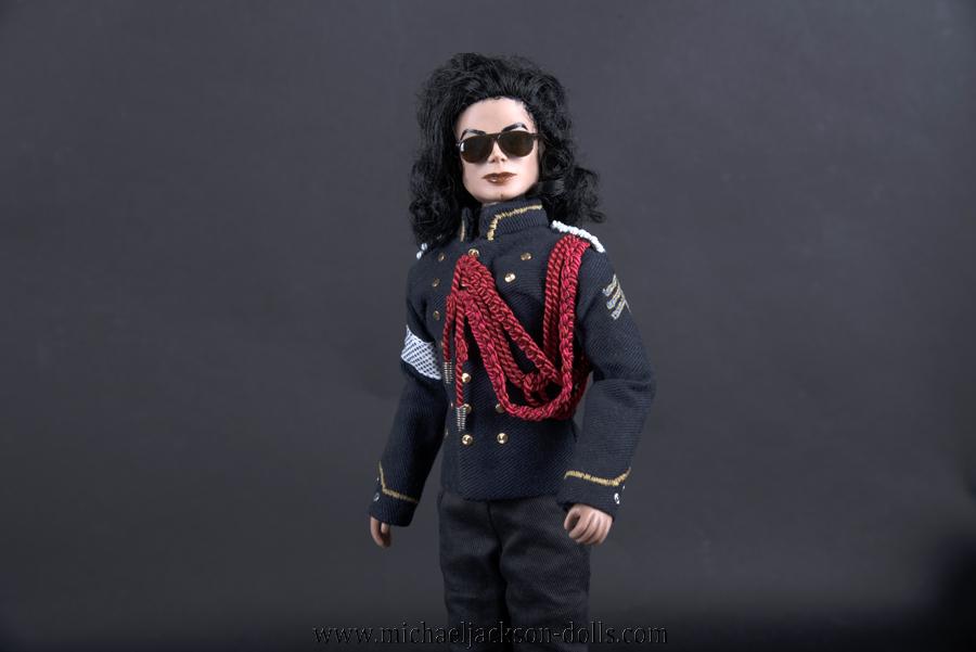 Michael Jackson doll NAACP awards 1994 close up