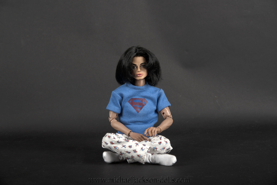 Michael Jackson doll pyjamas