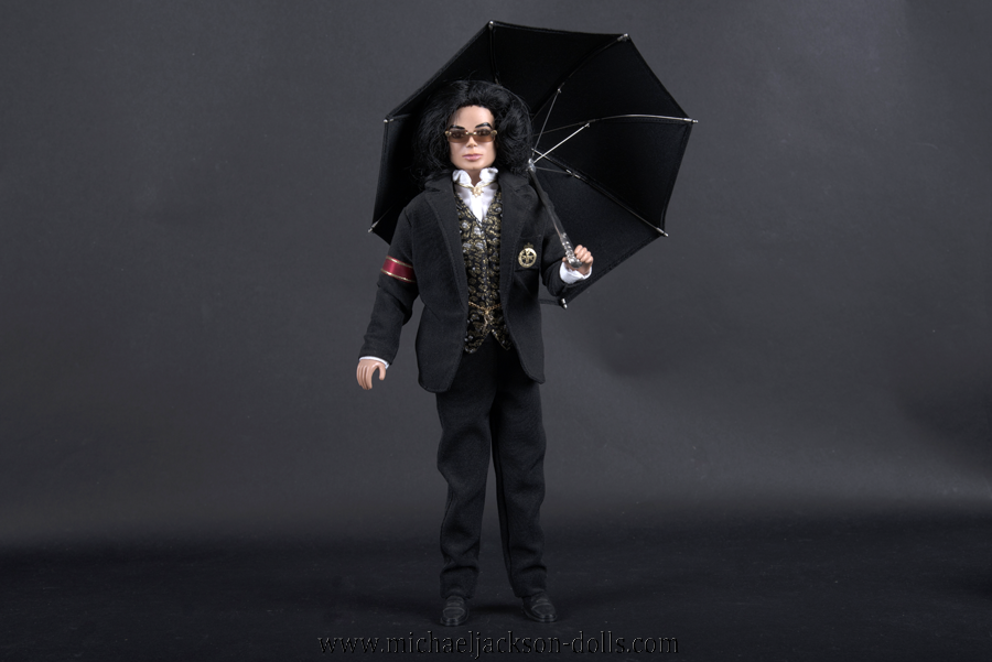 Michael Jackson doll trial suit
